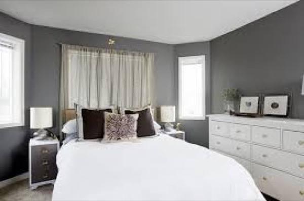 31-parede cinza na decoração salas e quartos