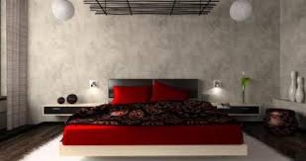 32-parede cinza na decoração salas e quartos
