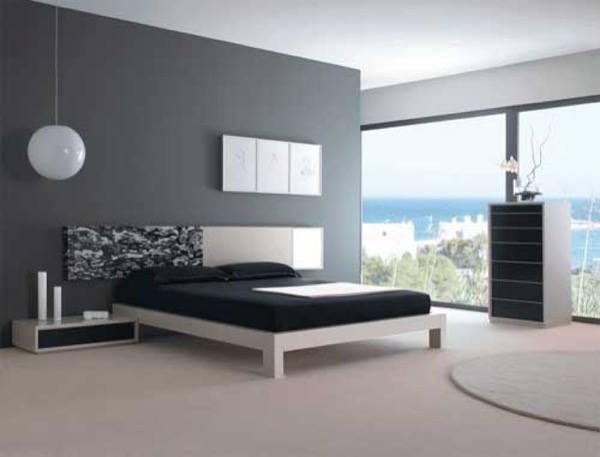 38-parede cinza na decoração salas e quartos