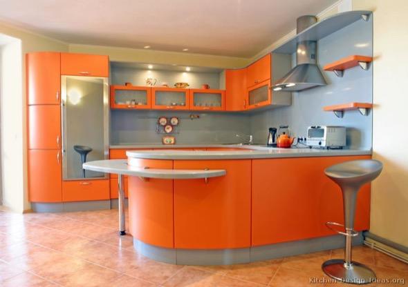 4-armarios de cozinha laranja