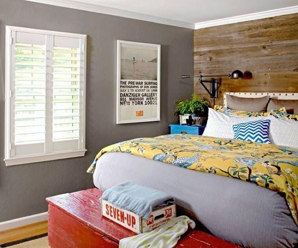 4-parede cinza na decoração salas e quartos