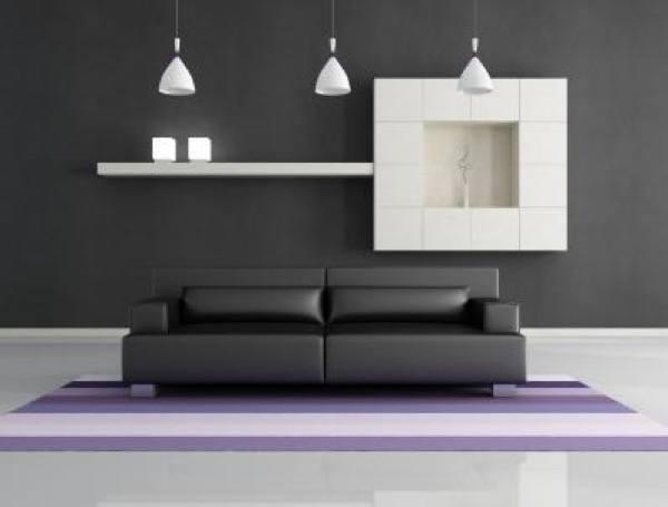 41-parede cinza na decoração salas e quartos