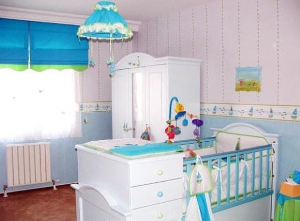 7-decorar quarto de bebe menino