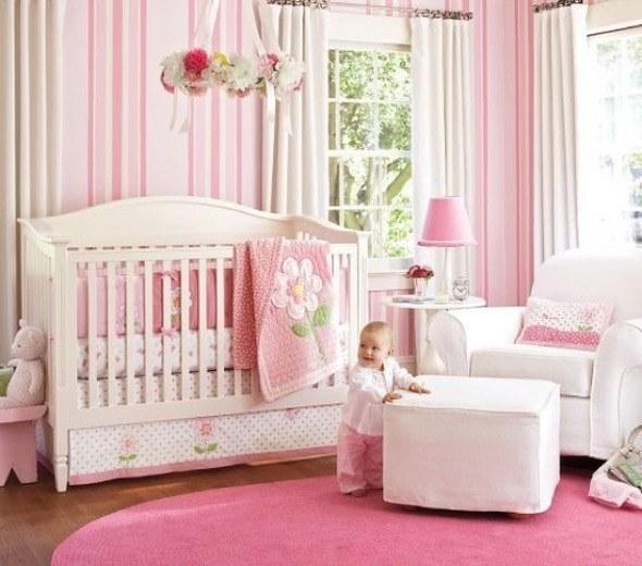 8-decorar quarto de bebe menina