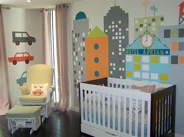 9-decorar quarto de bebe menino