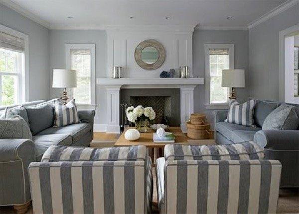 9-parede cinza na decoração salas e quartos