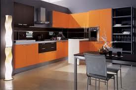 Armário de cozinha laranja 8