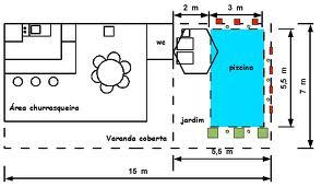 Construir piscina desenho