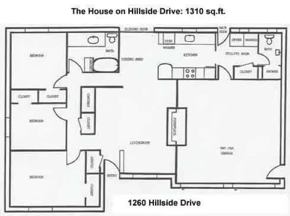 21-plantas de casas 3 quartos modelos