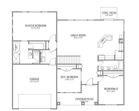 42-plantas de casas 3 quartos modelos
