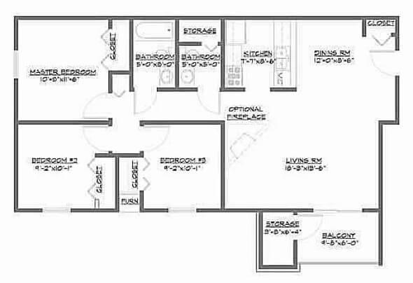 7-plantas de casas 3 quartos modelos