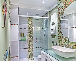Banheiro com espelhos 7