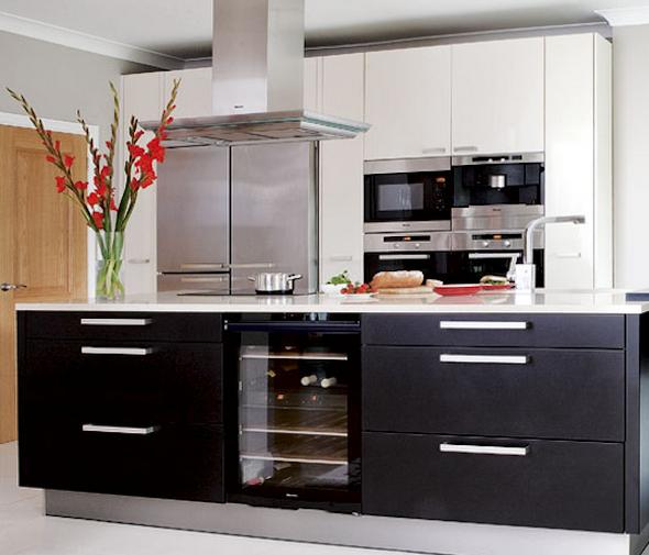 Cozinha planejada pequena 41 modelos e projetos - Modelos de armarios ...