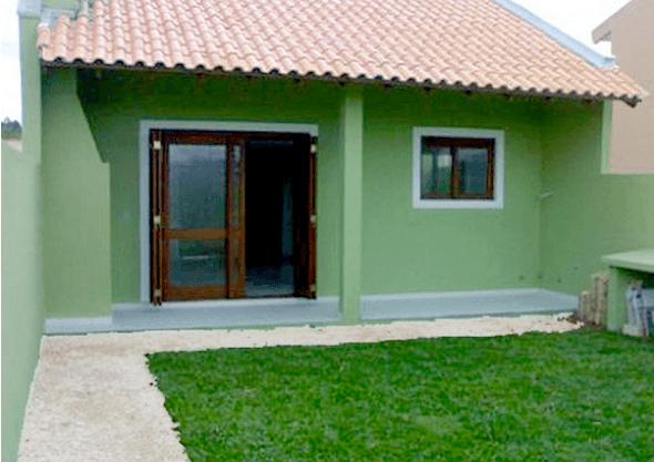 31 modelos de casas pequenas e fachadas para construir for Modelos de fachadas para frentes de casas