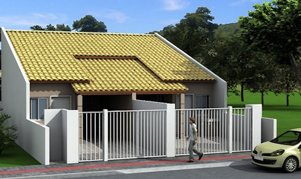 Modelos de casas pequenas 27 modelos e fachadas auto - Casas de chicas ...