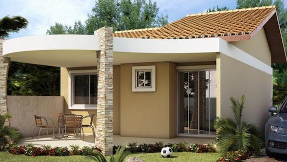 Modelos de casas pequenas3 for Modelos jardines para casas pequenas