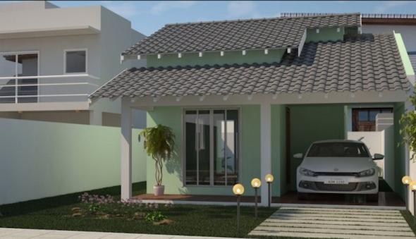 Modelos de casas pequenas31 for Modelos de fachadas de casas