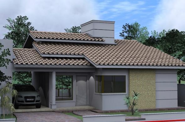 Modelos de casas pequenas5 for Modelos jardines para casas pequenas
