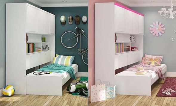 1-quarto juvenil decorado