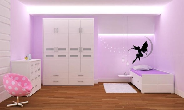 3-quarto juvenil decorado