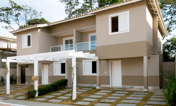 Tintas para fachadas de casas 3 op es e a melhor escolha for Pinturas de frentes de casas colores