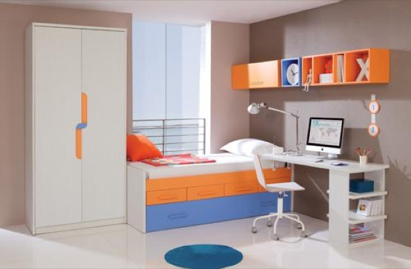 7-quarto juvenil decorado