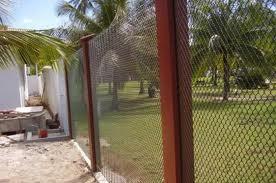 Telas Divisórias mosquiteiro jardim