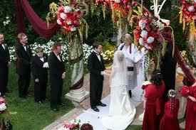 Casamento Estilo Americano padrinhos