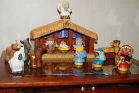 Decoração de Natal presépio