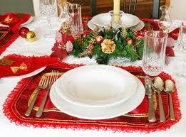 Enfeitar mesa de natal 5