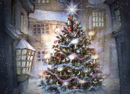 História de Natal - árvore
