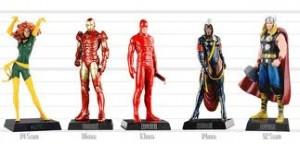 Coleção Miniaturas Marvel 1