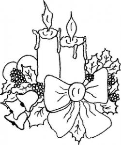 Desenhos de Natal 2012 para Colorir 9