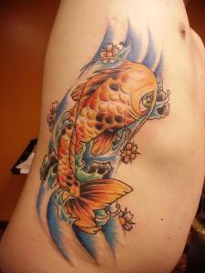 Tatuagem na costela 7