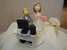 Bolo de Casamento Geek