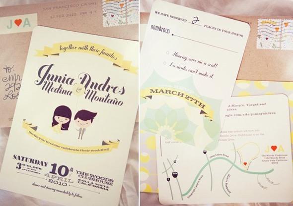 13-modelos de convite de casamento
