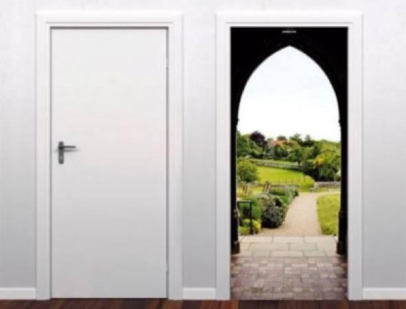 2-modelos de adesivos para portas