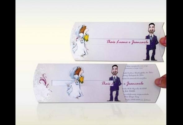 2-modelos de convite de casamento