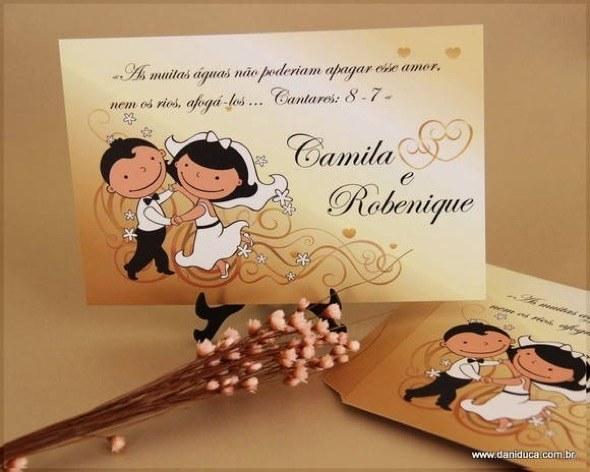 8-modelos de convite de casamento
