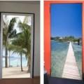 Adesivos decorativos para portas 4