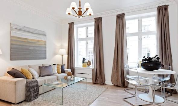 cortina para apartamento