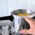 Como preparar milho verde cozido 2