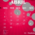 Calendário abril 2013 6