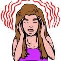 dor cabeça forte