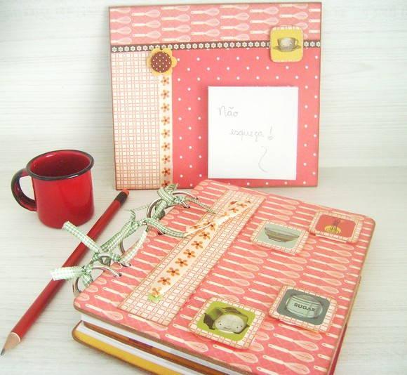 Caderno de receitas Dia das Mães 2