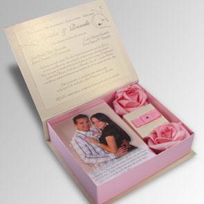 Caixa para convite de casamento 6