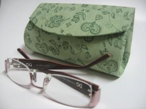 Como fazer porta óculos artesanal