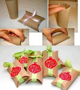 Embalagem de rolo de papelão 2