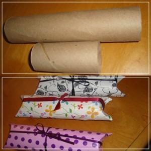 Embalagem de rolo de papelão 3