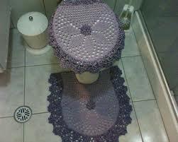 Jogos de banheiro em crochê 1